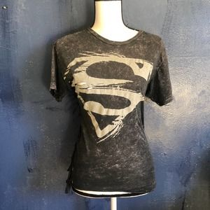 Vintage 1999 DC COMICS Distressed Superman shirt
